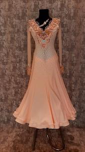 Плаття Стандарт персикове