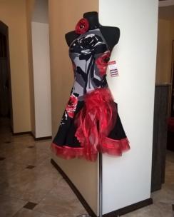 Плаття Латина кольорова