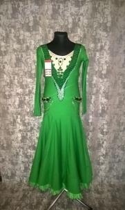 Плаття Стандарт зеленого кольору