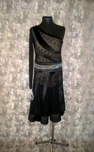 Плаття Латина чорна.