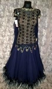 Плаття Стандарт темно-синє SWA