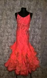 Плаття Стандарт оранжеве